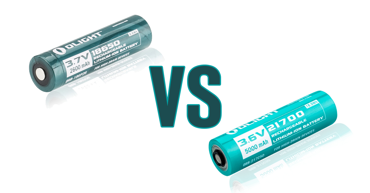 21700 vs 18650 Akkus - Welcher ist besser?