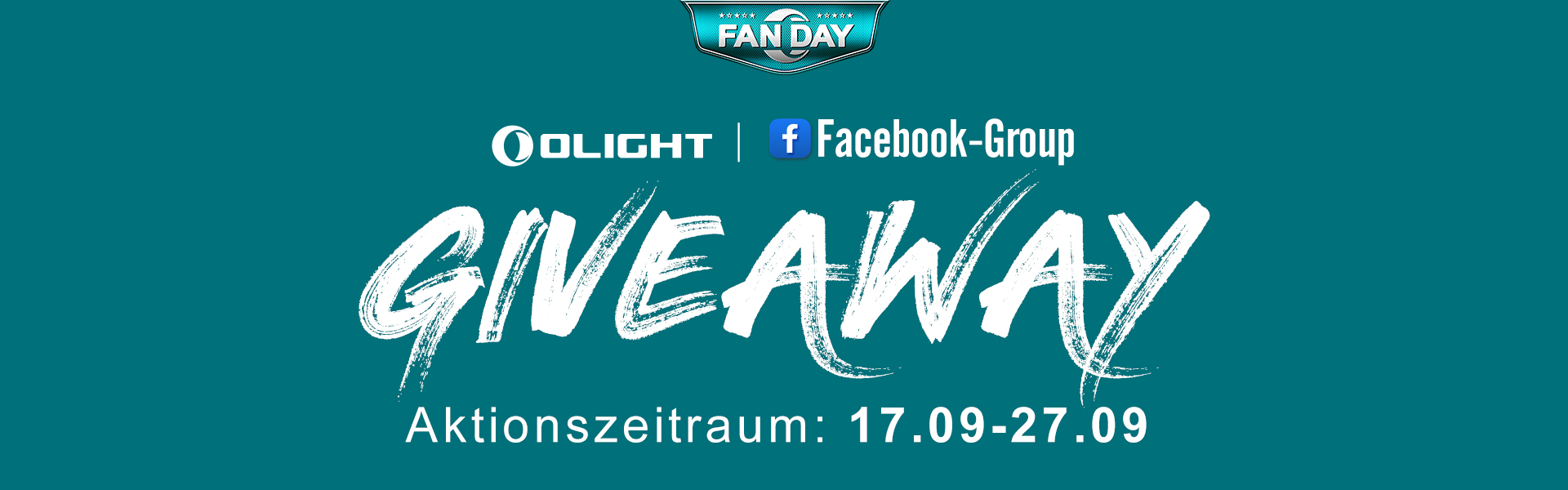 #GIVEAWAY in Olight Facebook-Gruppe