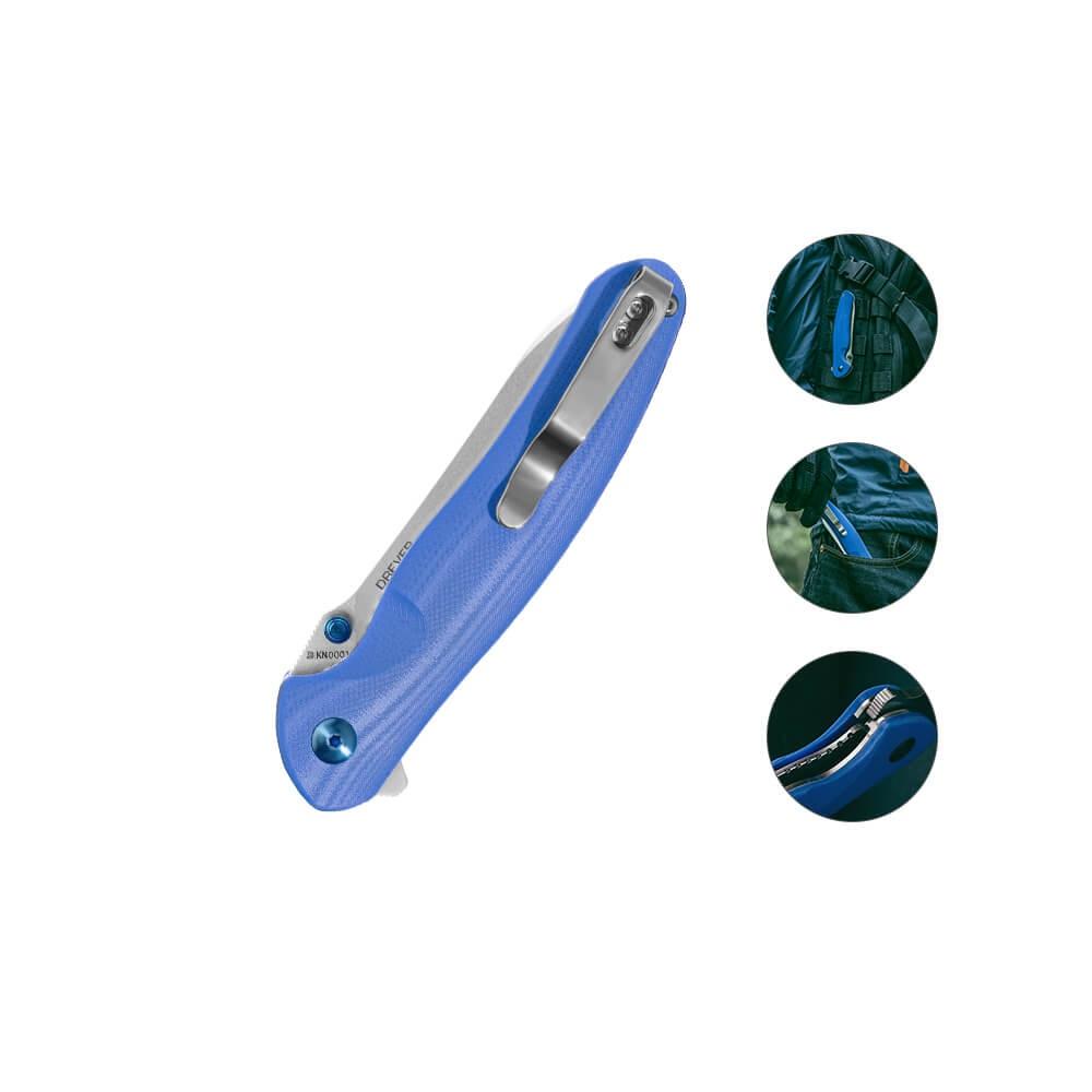 Olight Drever Blau Taschenmesser