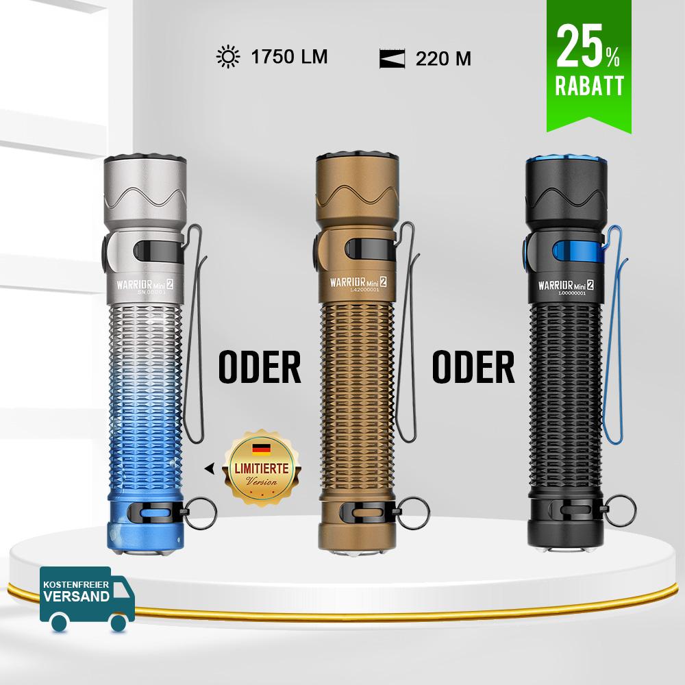 Olight Warrior Mini 2 Taktische Taschenlampe