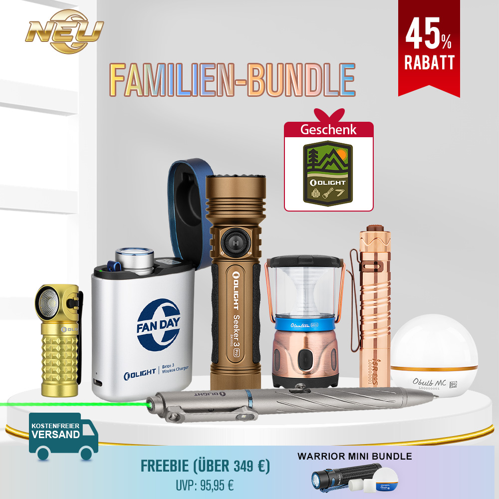 Olight Familien-Bundle