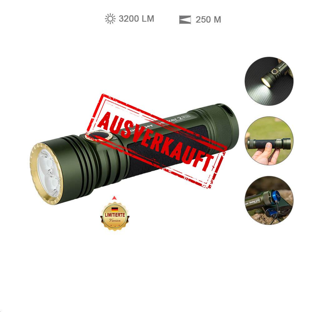 Olight Seeker 2 Pro Taschenlampe - OD Green