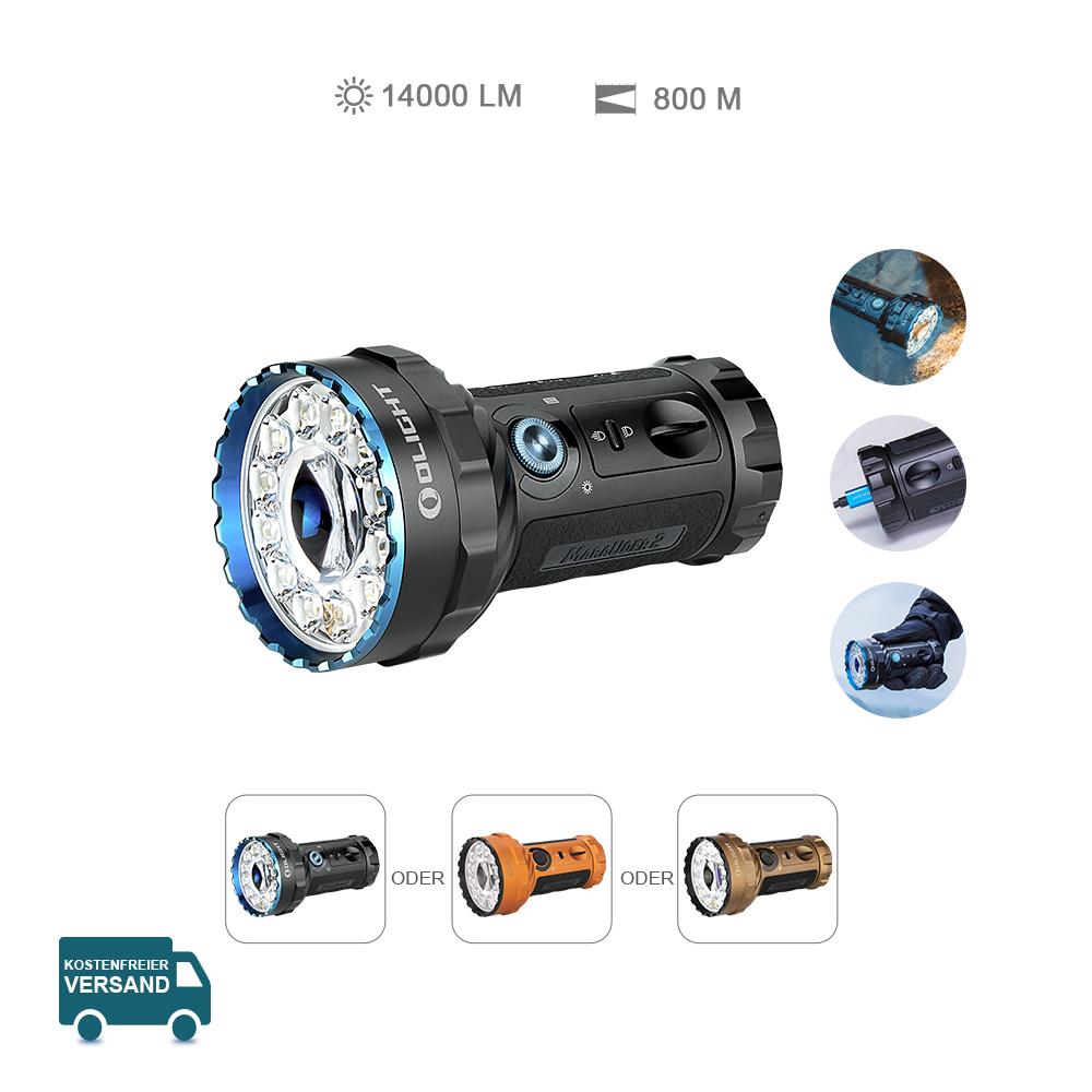 Olight Marauder 2 Leistungsstarke Taschenlampe