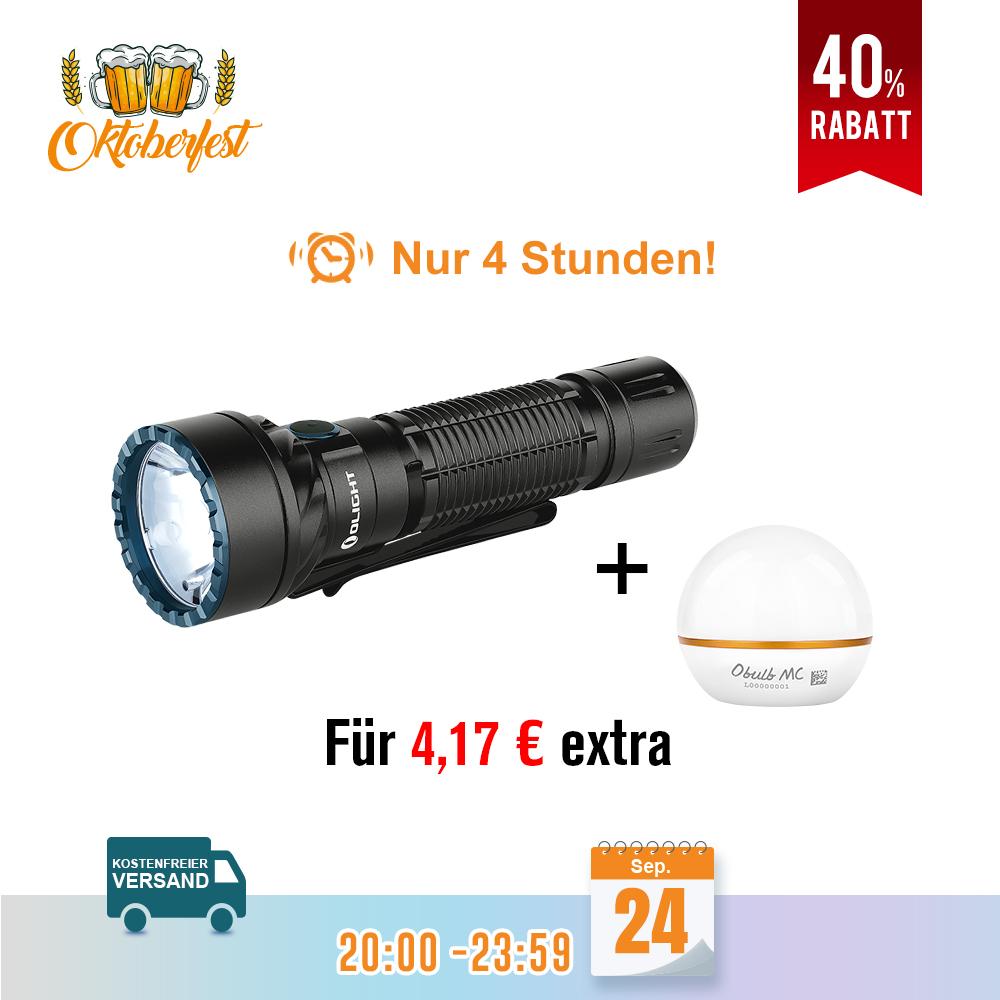 Olight Freyr LED Taschenlampe Schwarz Bundle