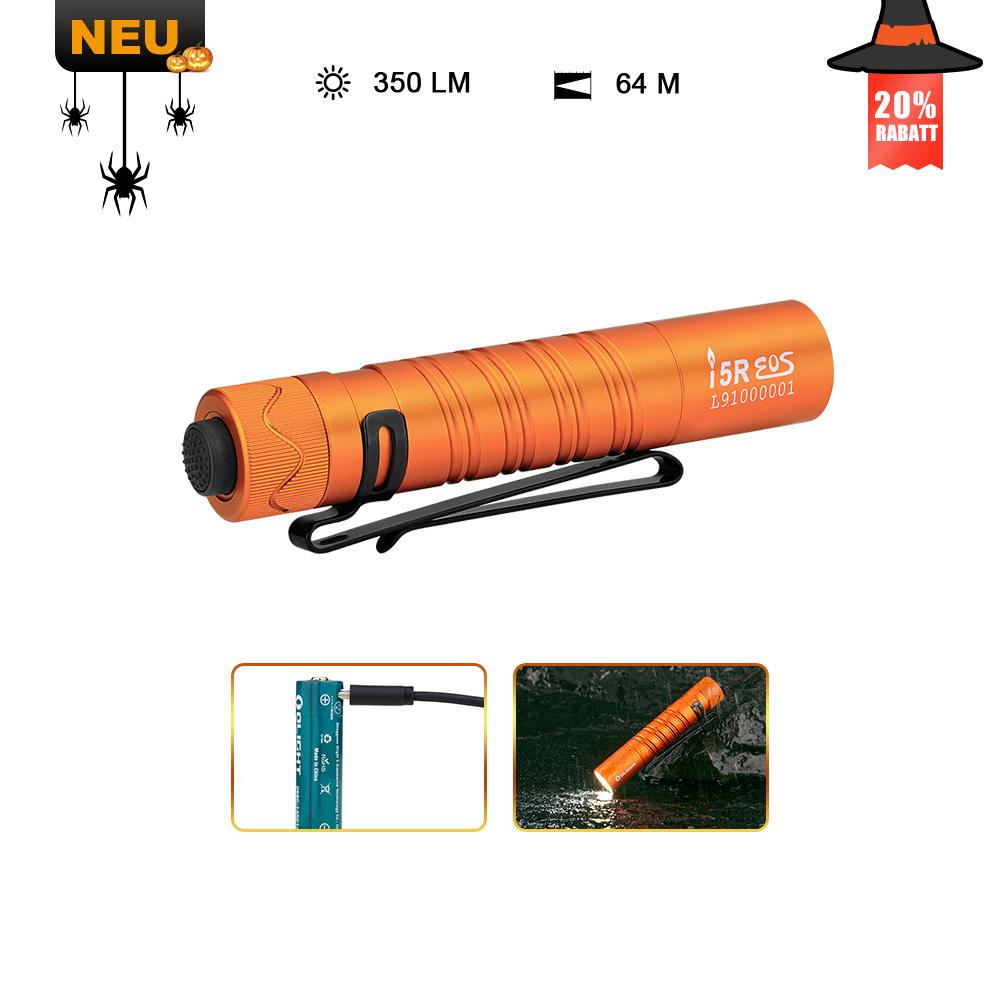 Olight I5R Taschenlampe Orange