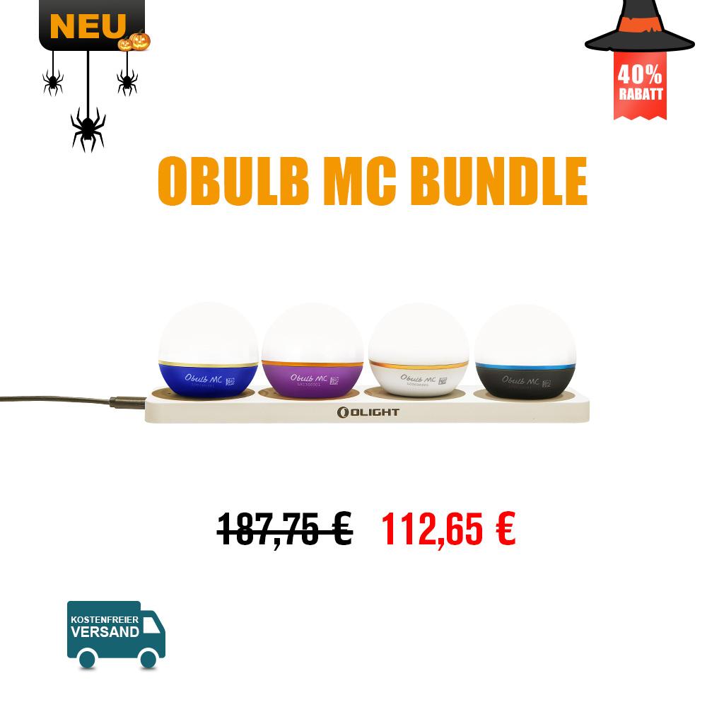 Olight Omino und Obulb MC Bundle
