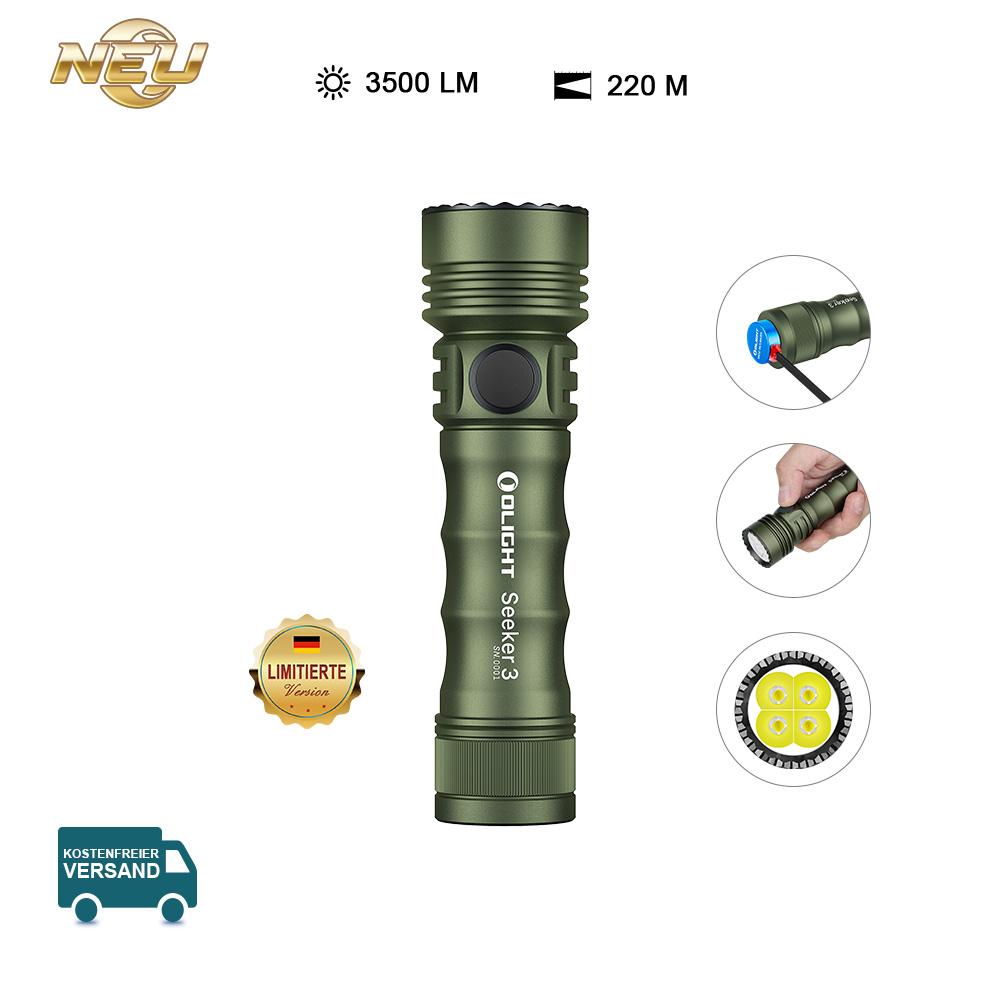 Olight Seeker 3 Taschenlampe OD Green