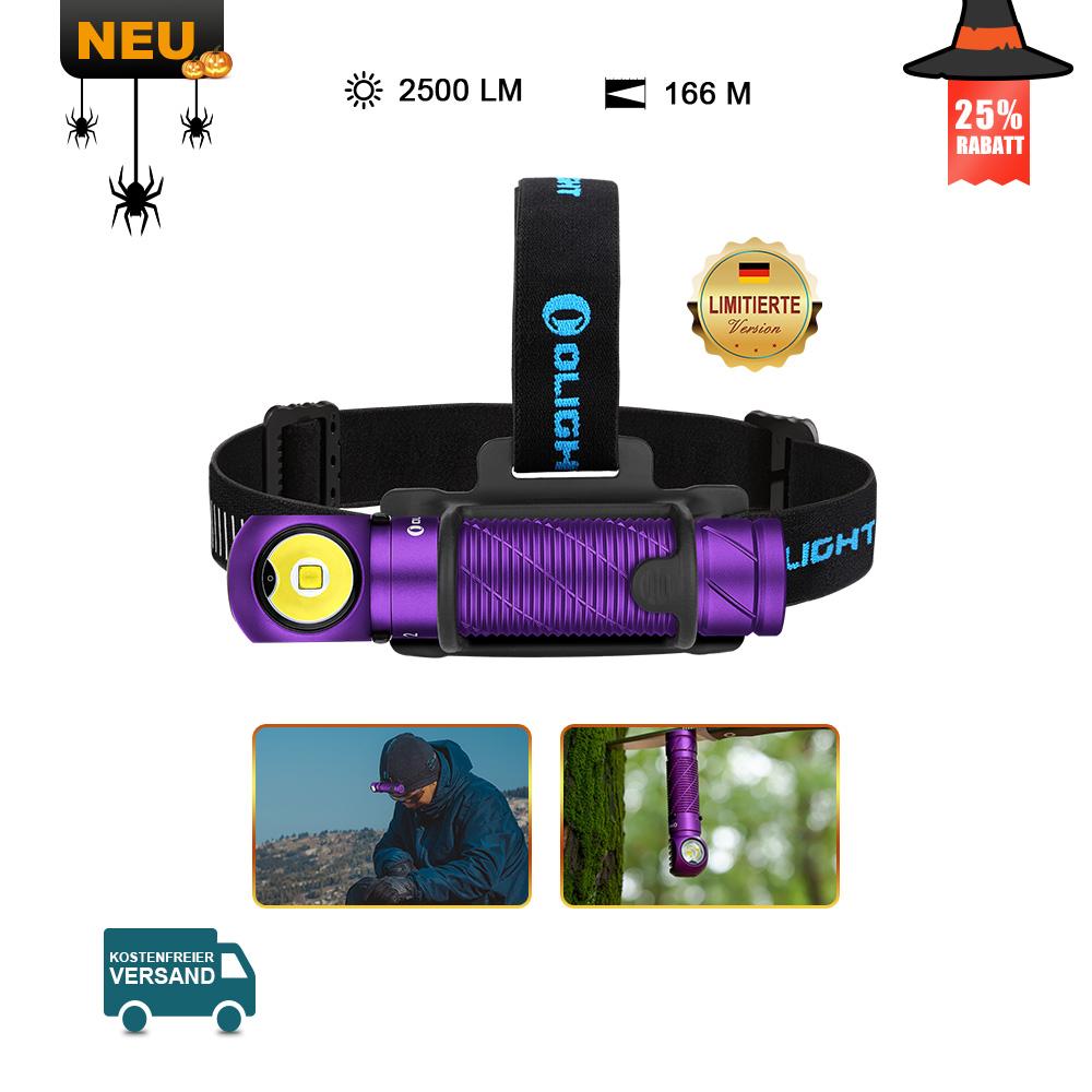 Olight Perun 2 Multifunktionslampe Lila