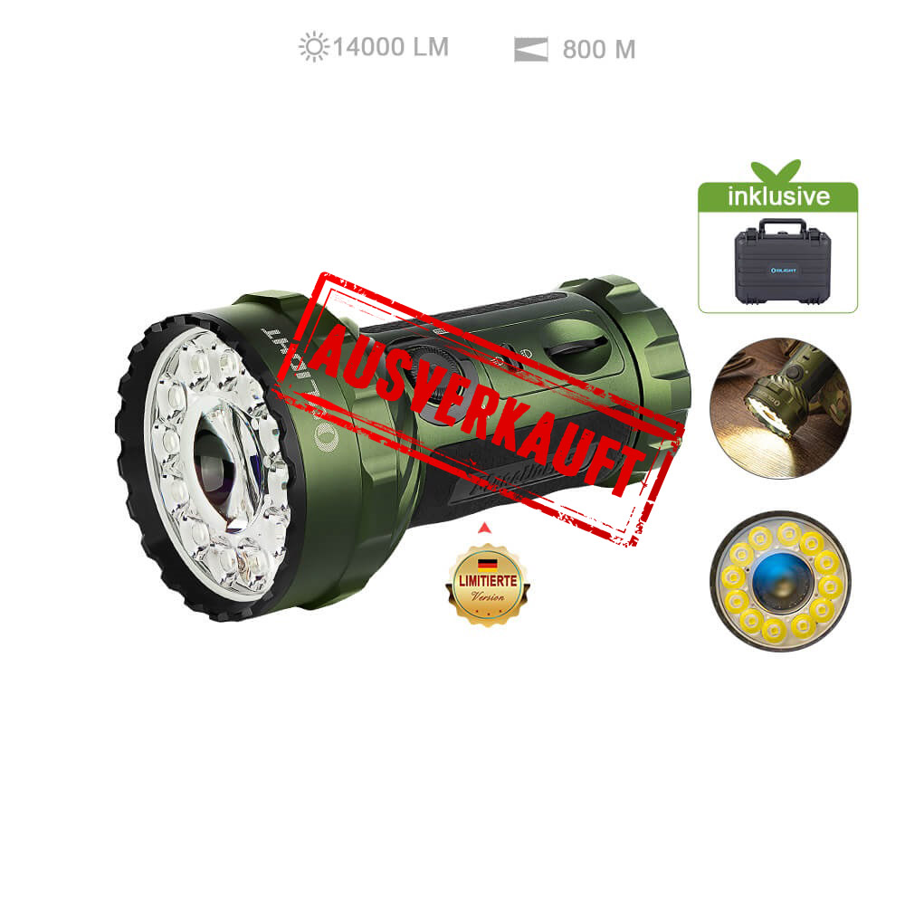 Olight Marauder 2 Taschenlampe - OD Green