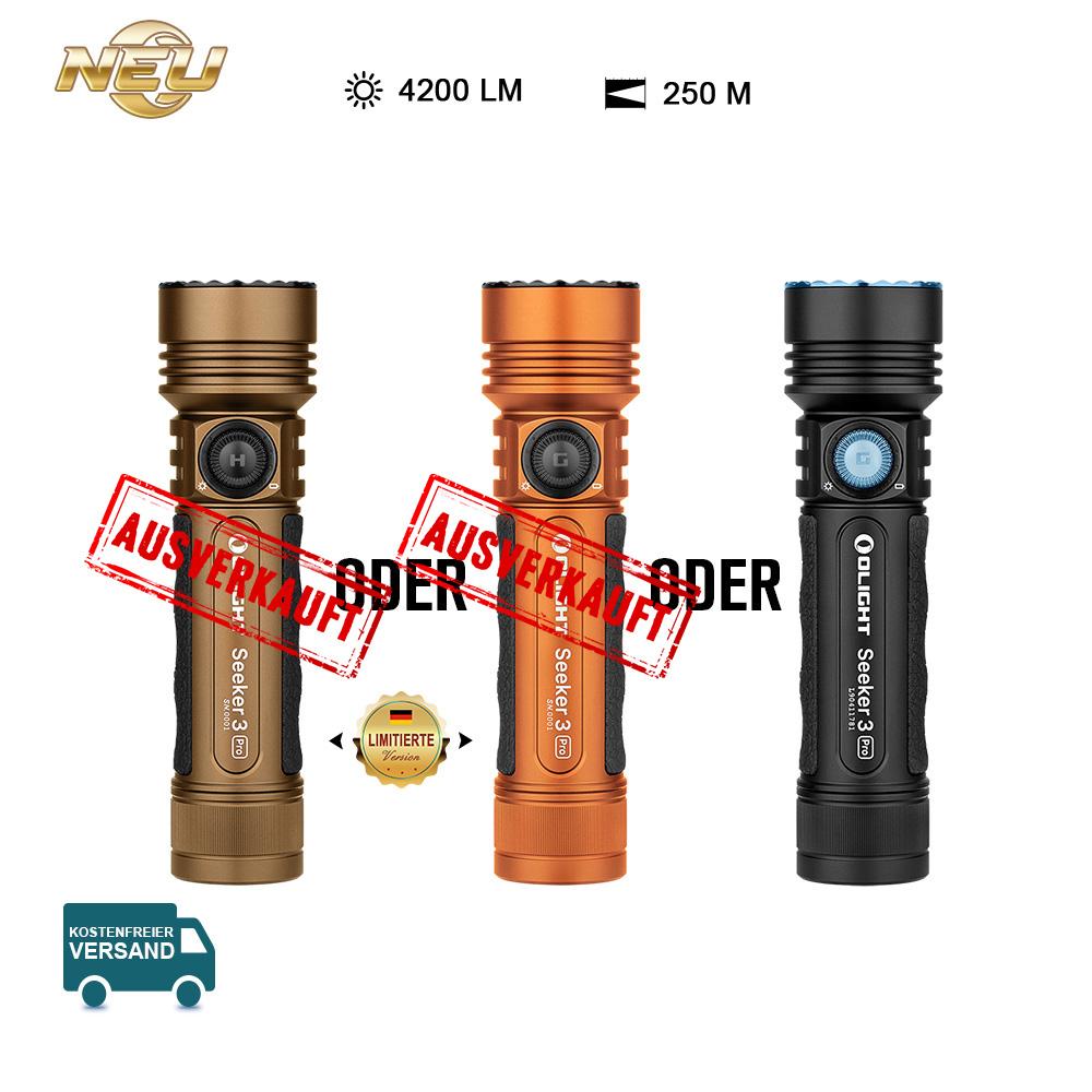 Olight Seeker 3 Pro Taschenlampe