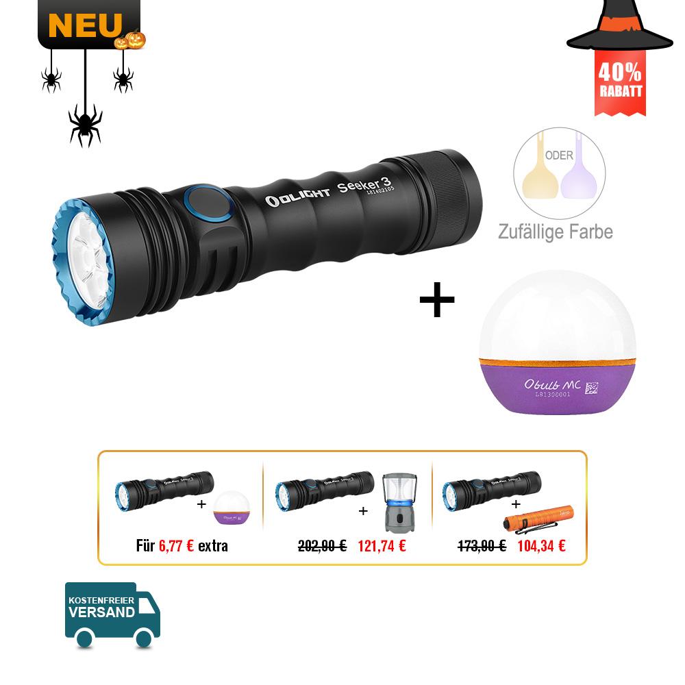 Olight Seeker 3 Taschenlampe Bundle
