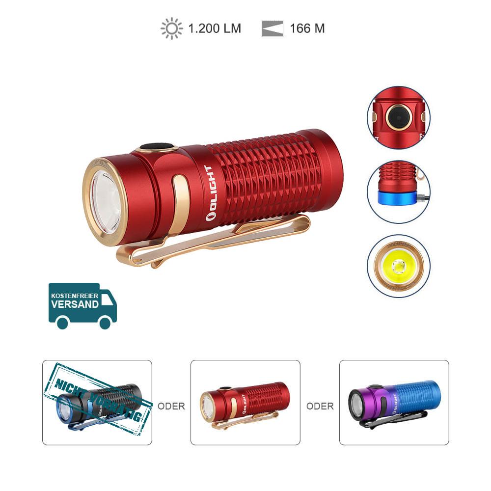 Olight Baton 3 Aufladbare Taschenlampe