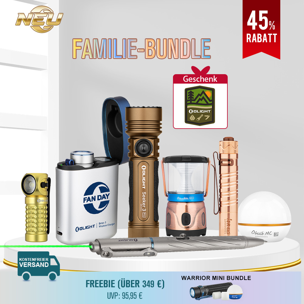 Olight Familie-Bundle