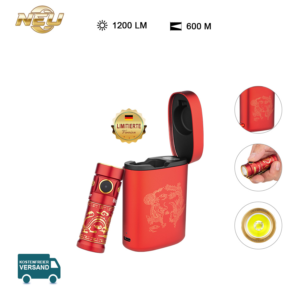 Olight Baton 3 Taschenlampe Kit - Drache und  Phönix
