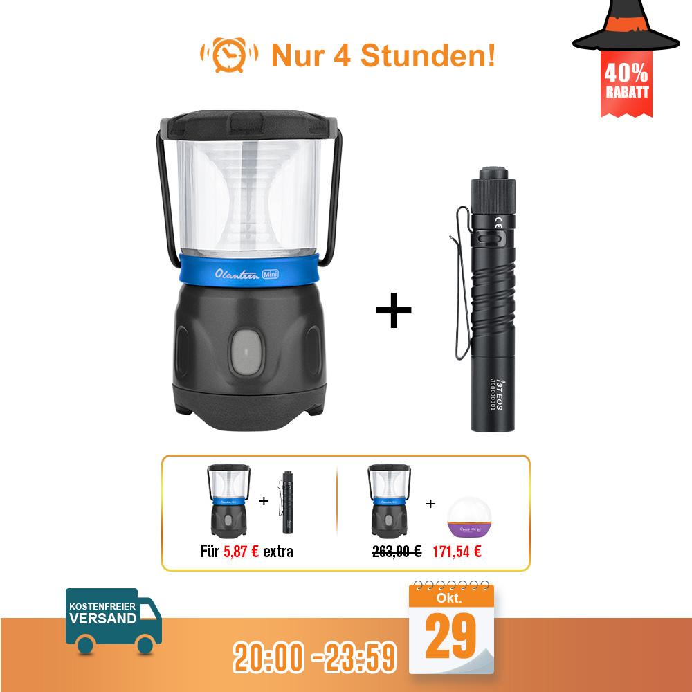 Olight Olantern Mini Campinglampe Schwarz Bundle