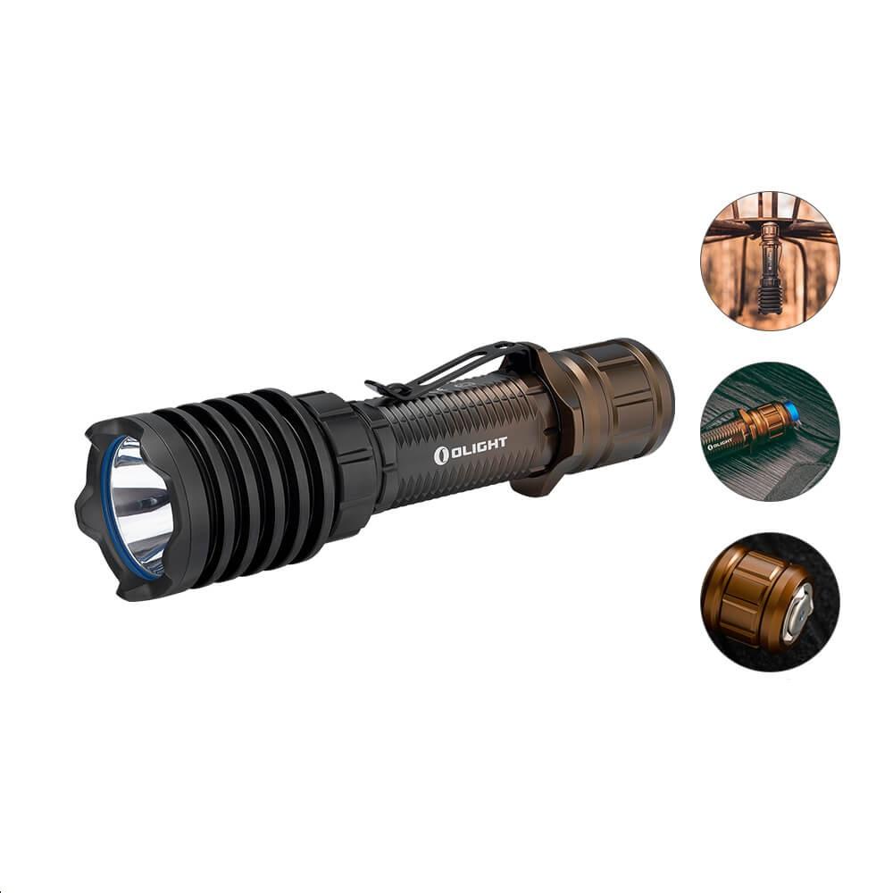 Olight Warrior X Pro Desert Sunset Taschenlampe - Münzeinlösung