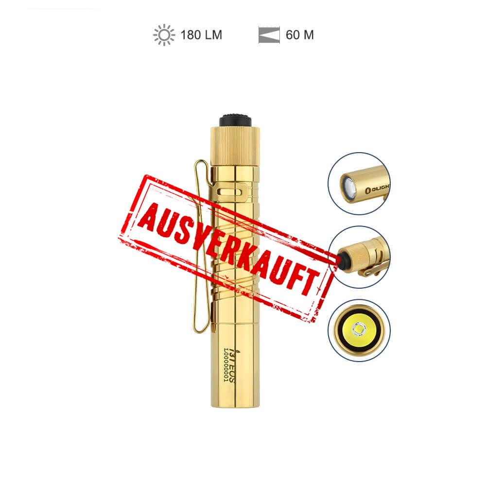 Olight I3T EOS Taschenlampe - Messing