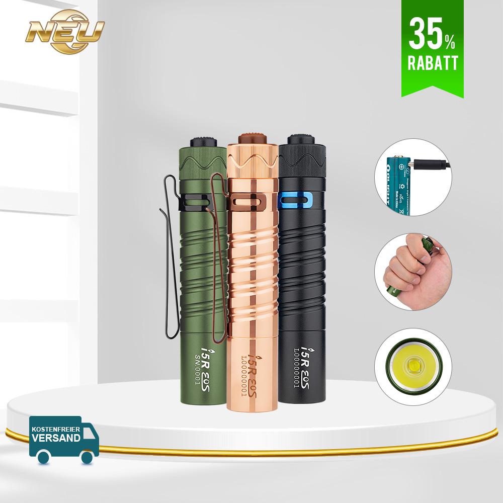 Olight I5R Taschenlampe Sammlung Bundle