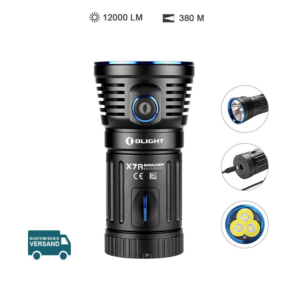 Olight X7R Marauder Starke LED Taschenlampe