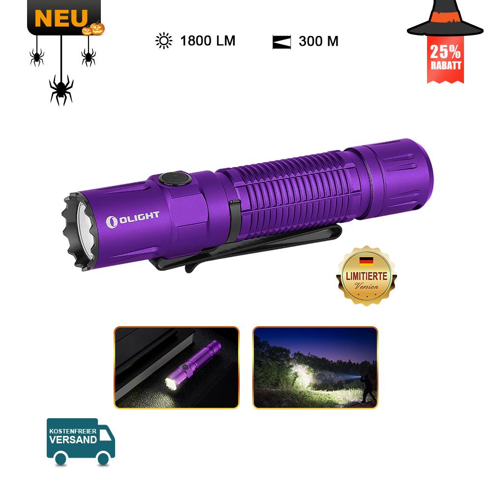 Olight M2R Pro Taschenlampe Lila