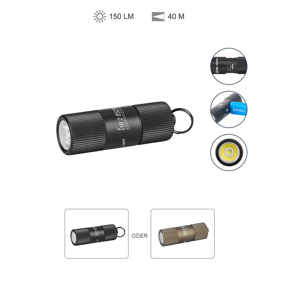 Olight i1R II EOS Schlüsselbund Aufladbare Taschenlampe