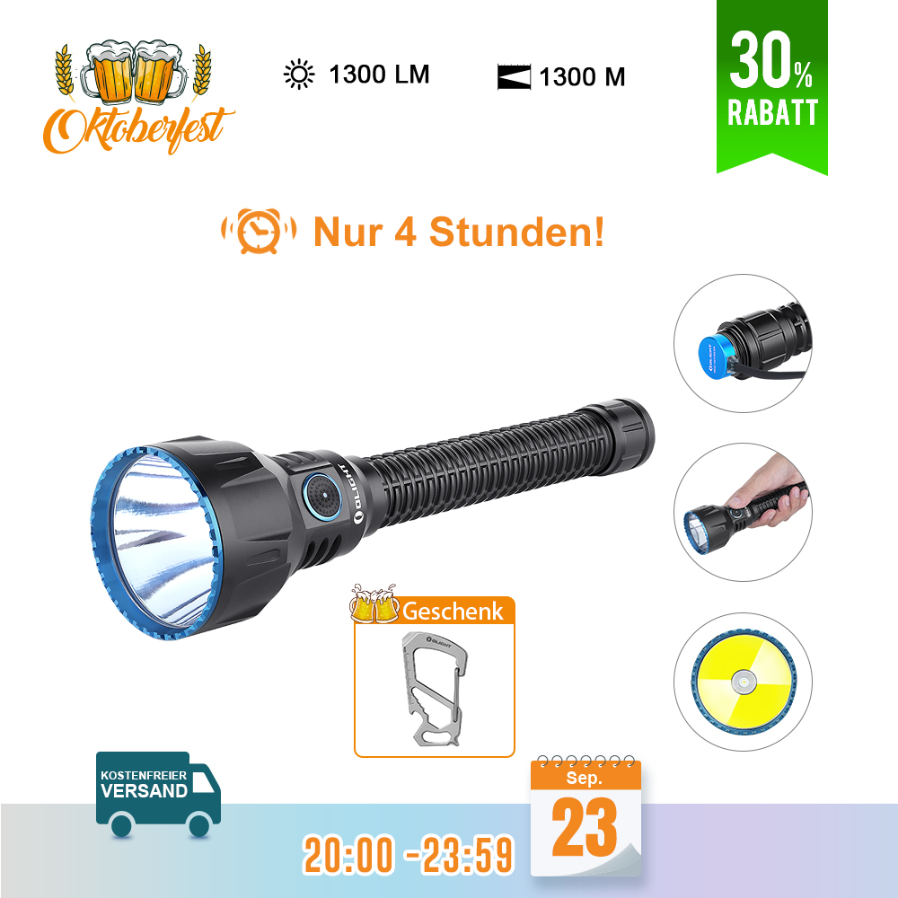Olight Javelot Turbo Taschenlampe - Schwarz
