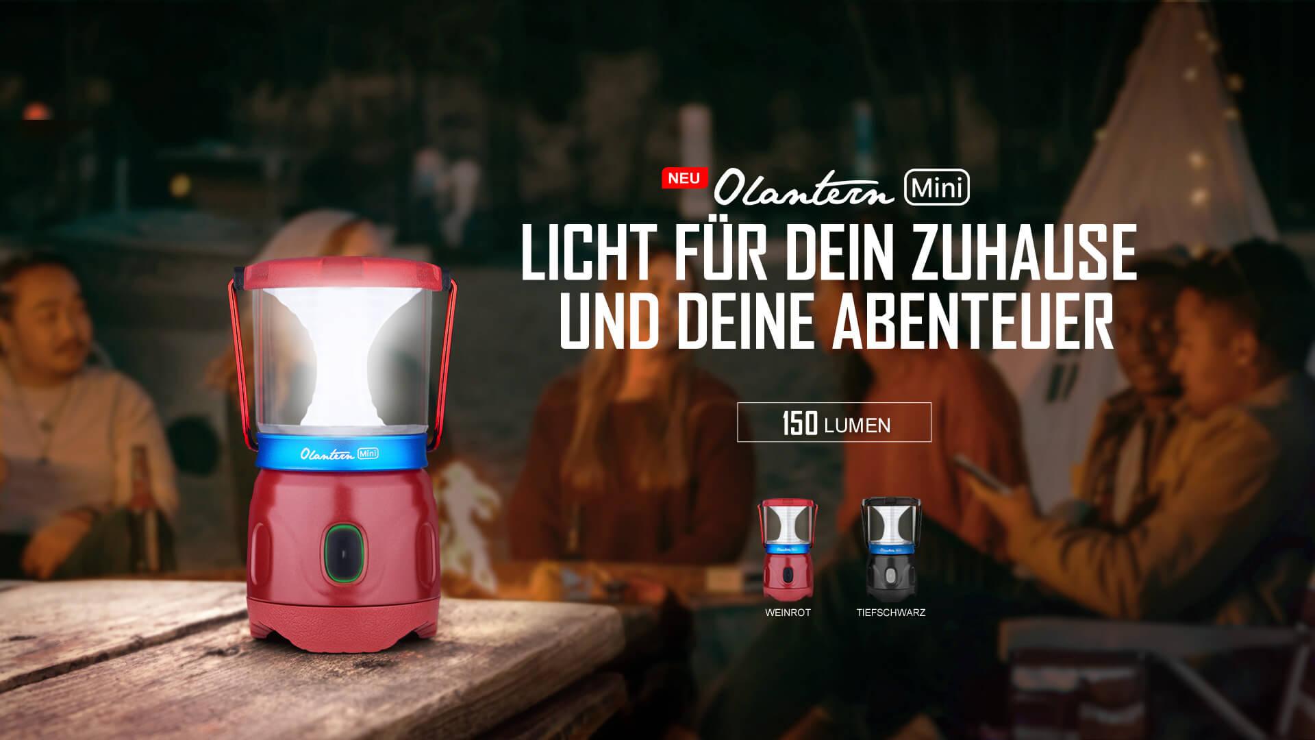 Olight Olantern mini Campinglampe