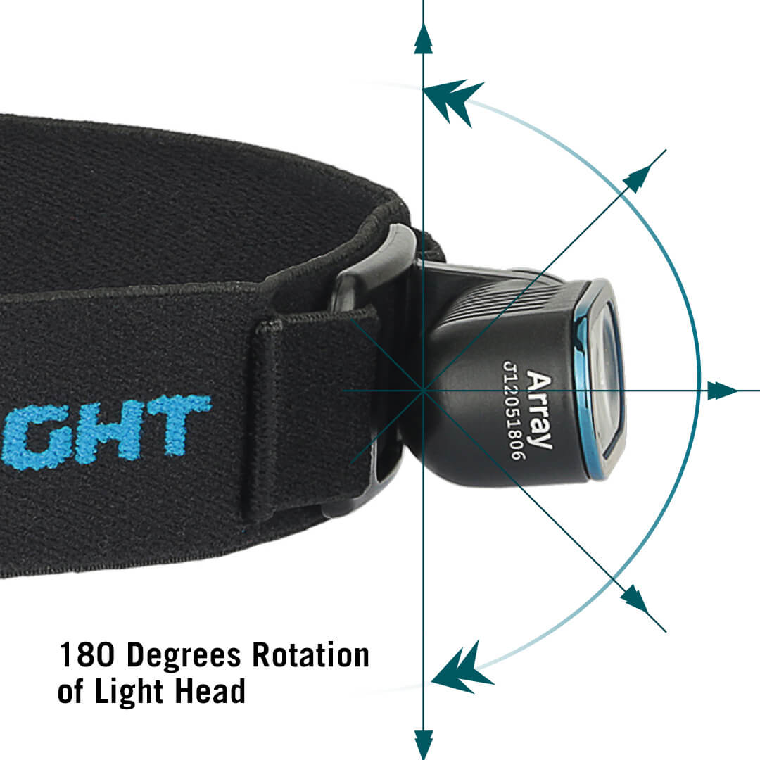 aluminium taschenlampe Olight Array
