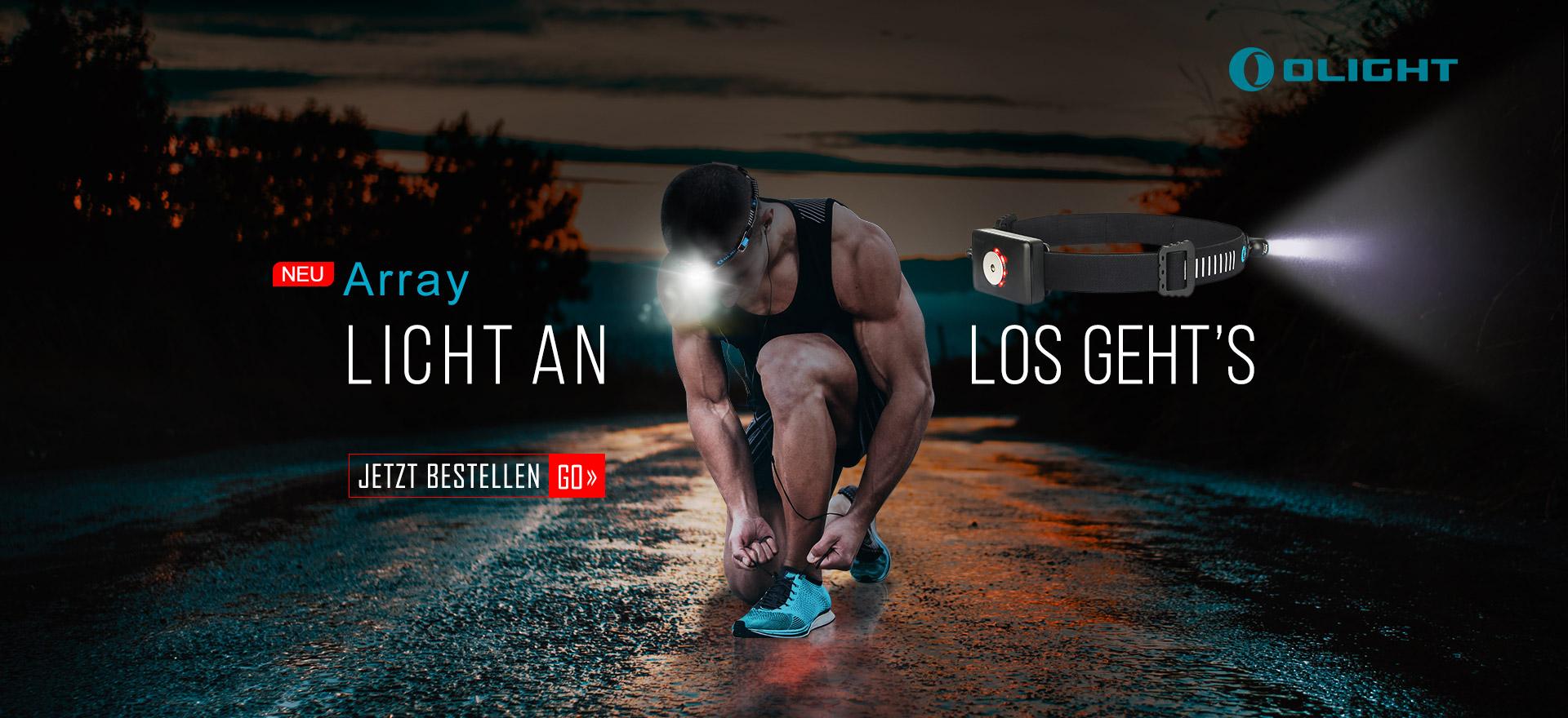 outdoor sports Olight Array Taschenlampe