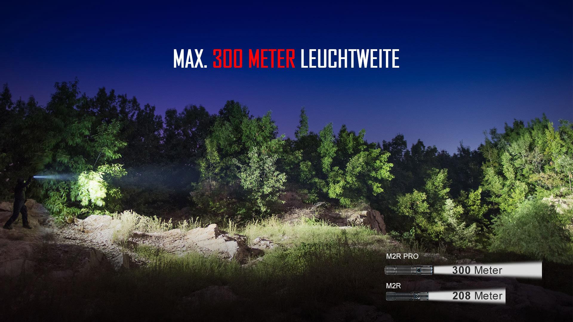 Olight M2R Pro Taschenlampe 1800 Lumen