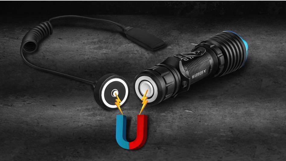 taktische Taschenlampe LED Warrior x