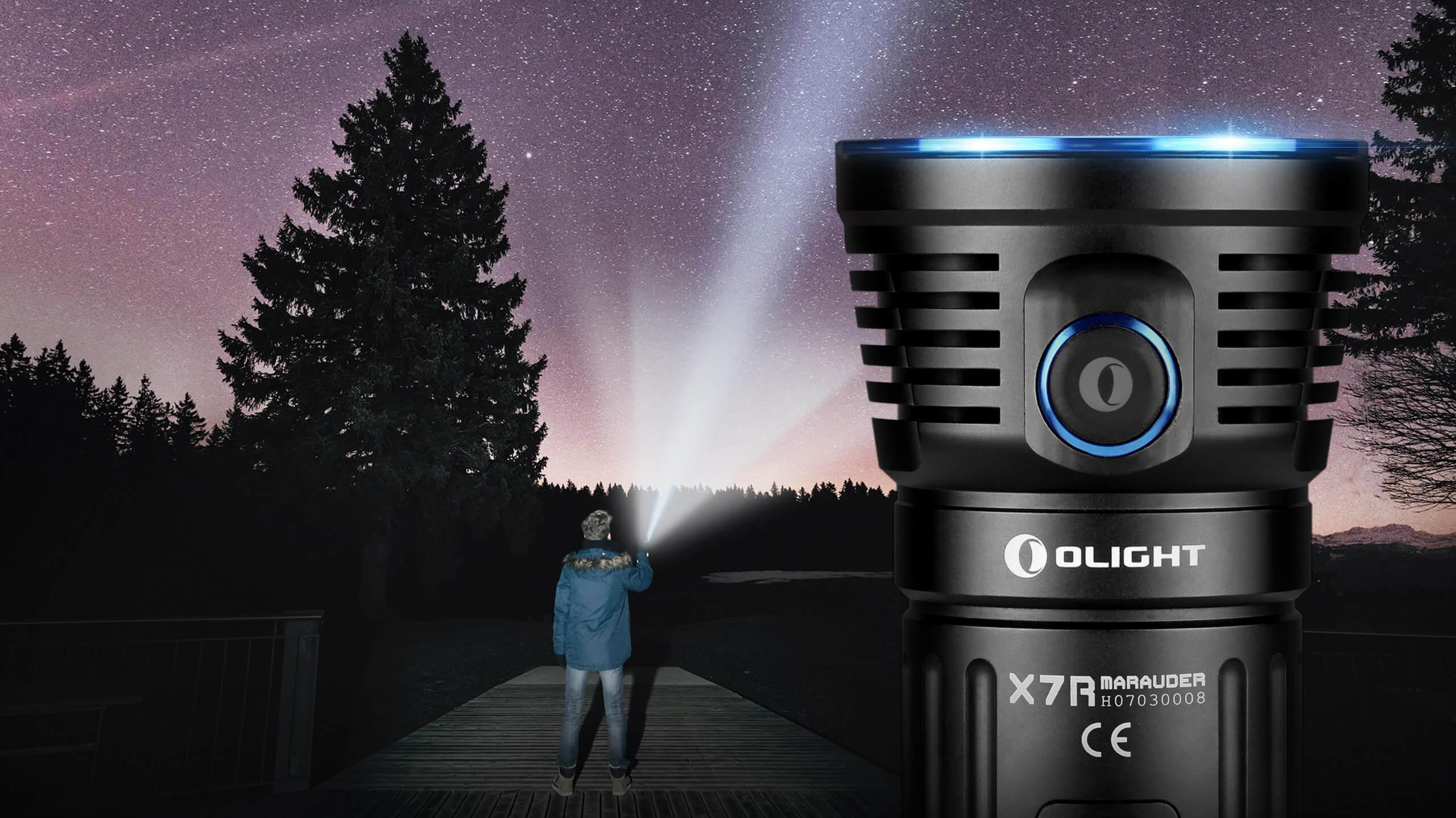 Olight X7R Taschenlampe 12000 Lumen