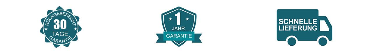 1 Jahr Garantie