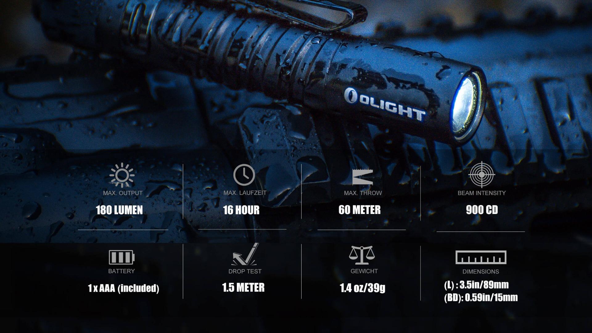 olight I3T EOS