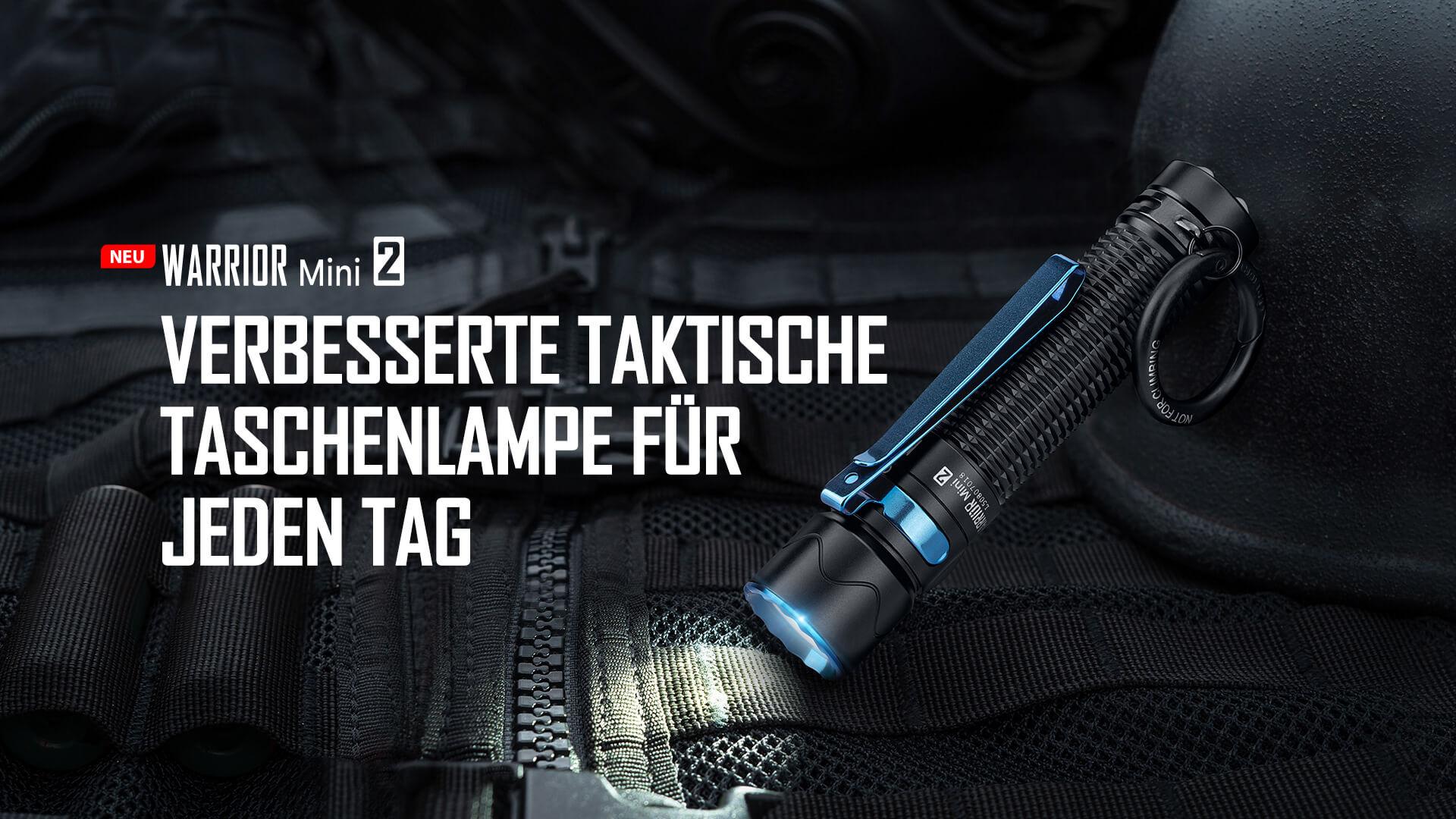 Olight Warrior mini 2 Taschenlampe