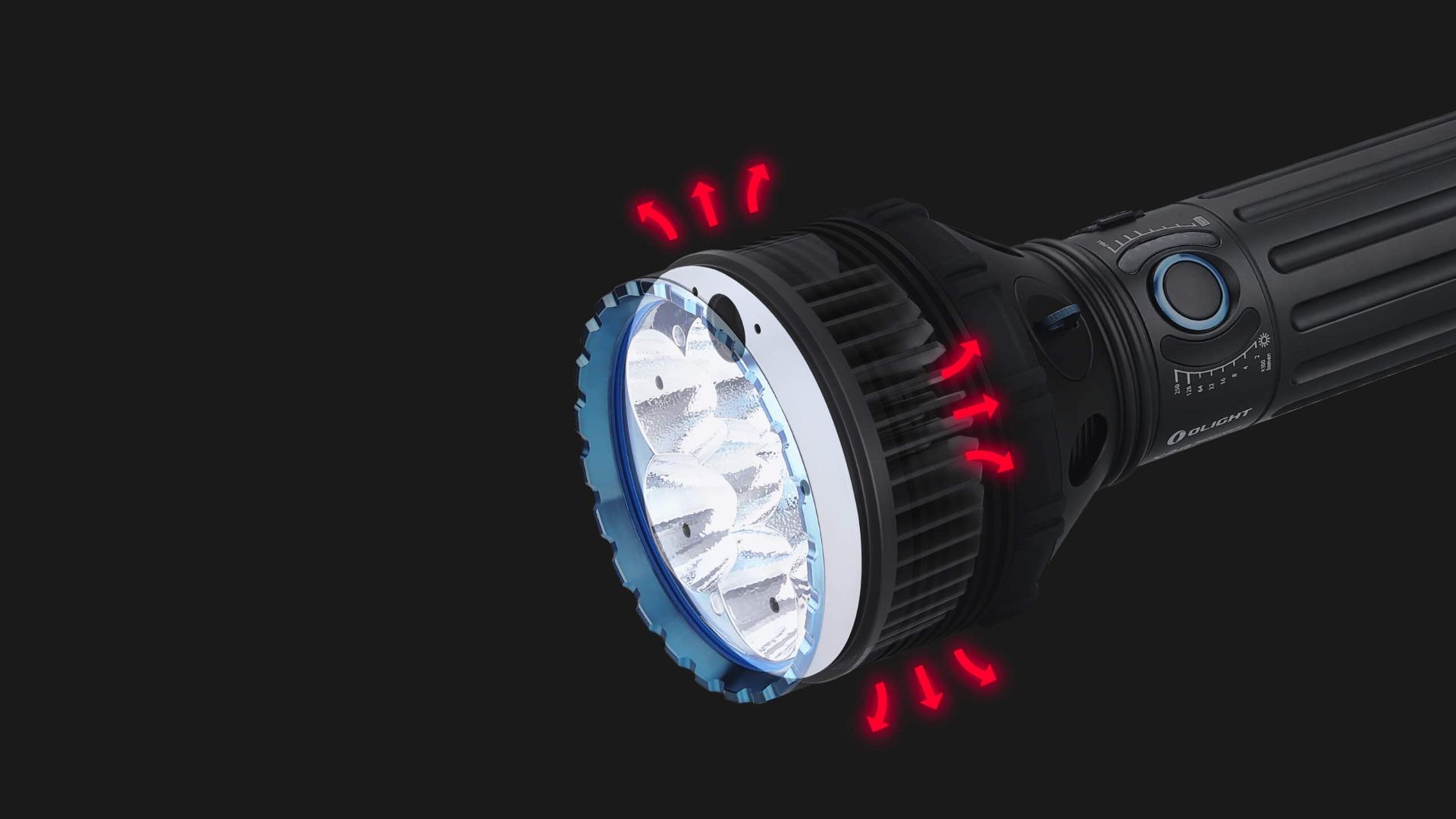 leistungsstarke taschenlampe X9R